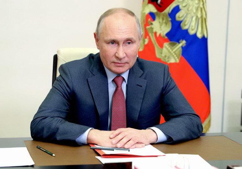 Владимир Путин рассказал о большом вкладе «Единой России» в подготовку послания Федеральному собранию