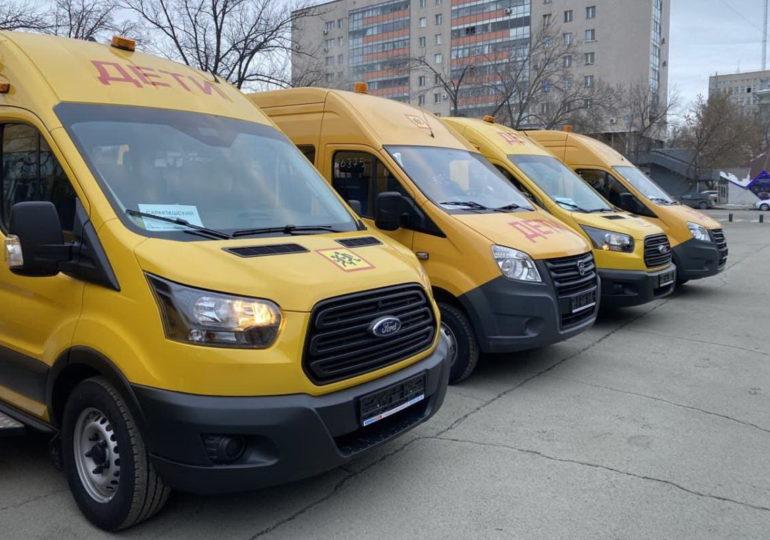 Школьные автобусы в Оренбуржье обновляют на постоянной основе