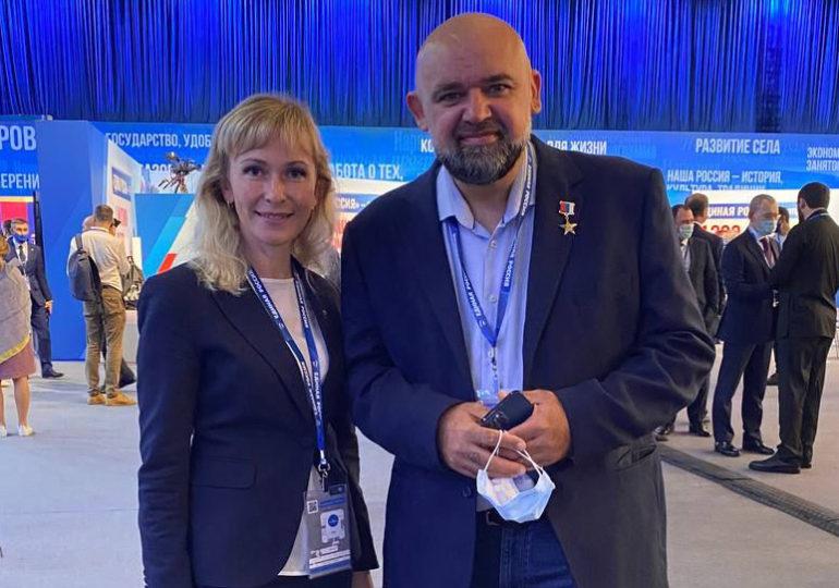 Главный врач Городской клинической больницы № 40 Денис Проценко стал спикером трехдневного Всероссийского просветительского марафона «Новое знание»